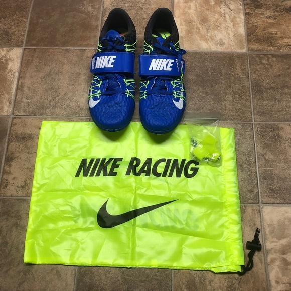 da5e452b18d1 Nike Zoom TJ Elite Triple Jump Spikes Shoes NEW